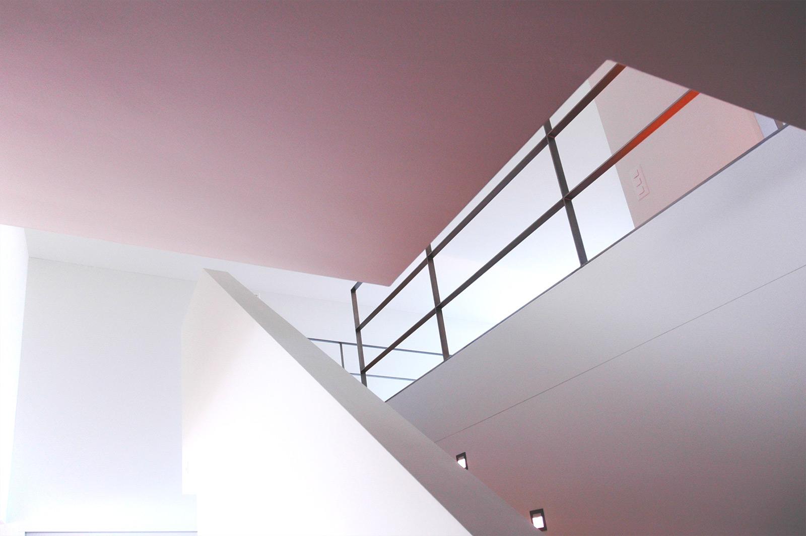 Wohnen mit Schlossblick, Treppenaufgang