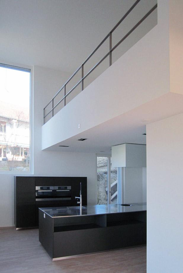 living with a castle view, Brunnmattstrassse, ground floor/kitchen
