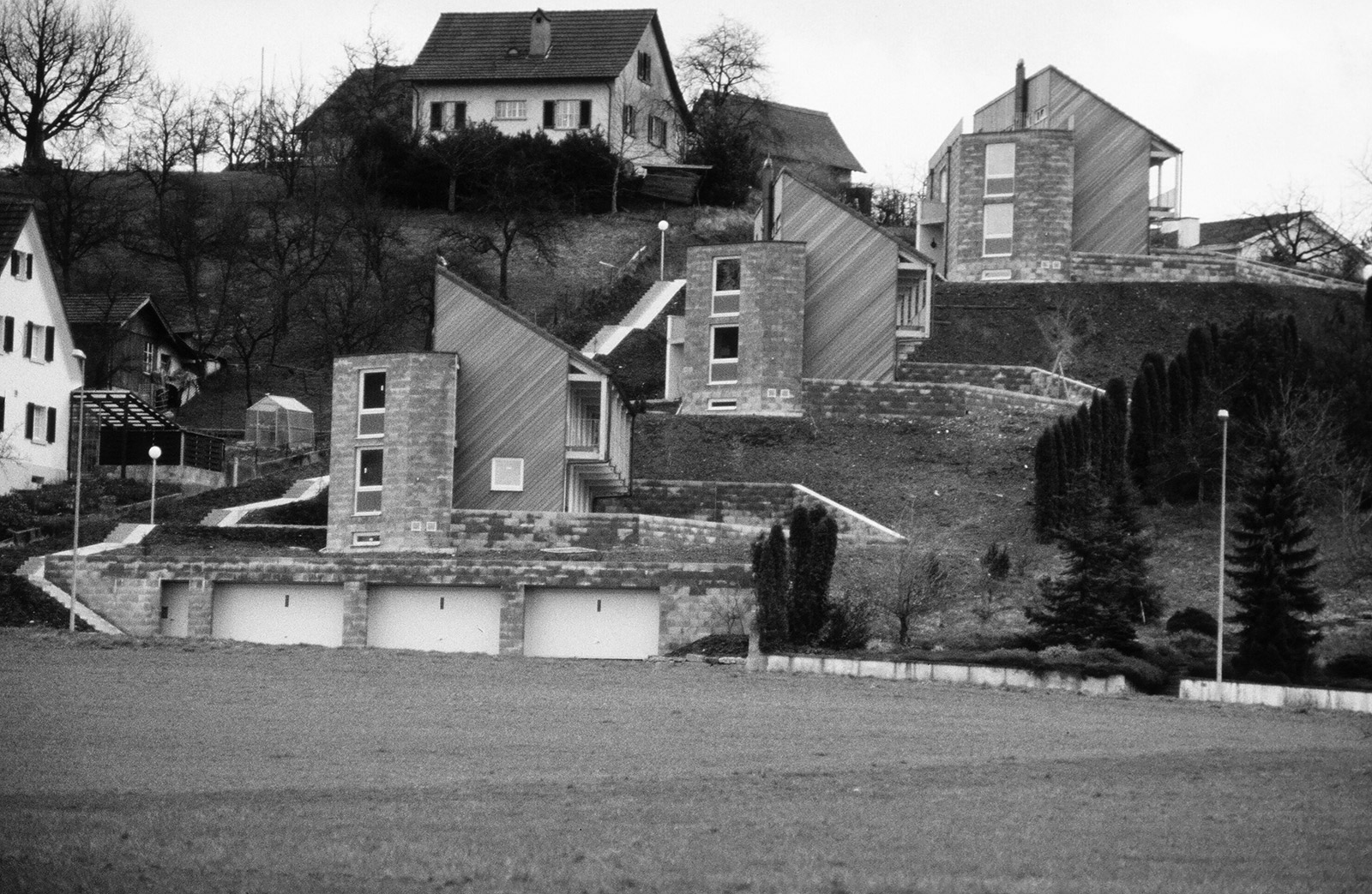 living with a castle view, Brunnmattstrassse, 1982