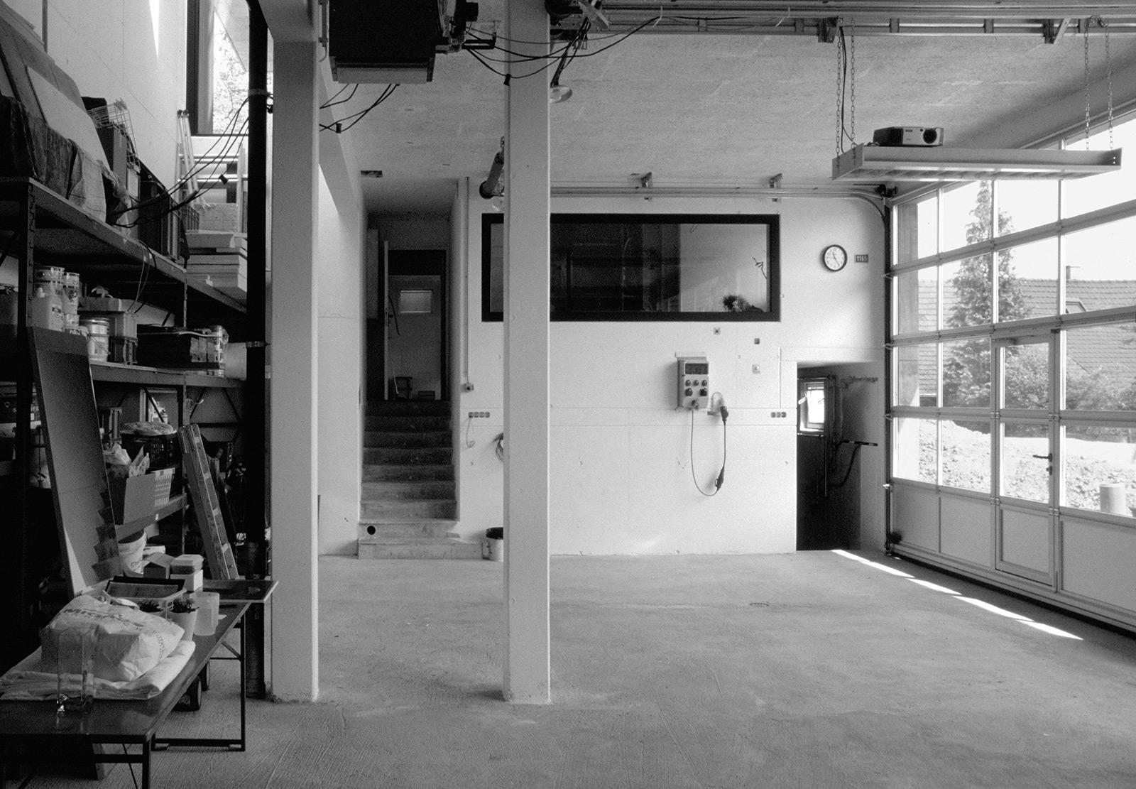 Das wachsende Haus, Garage