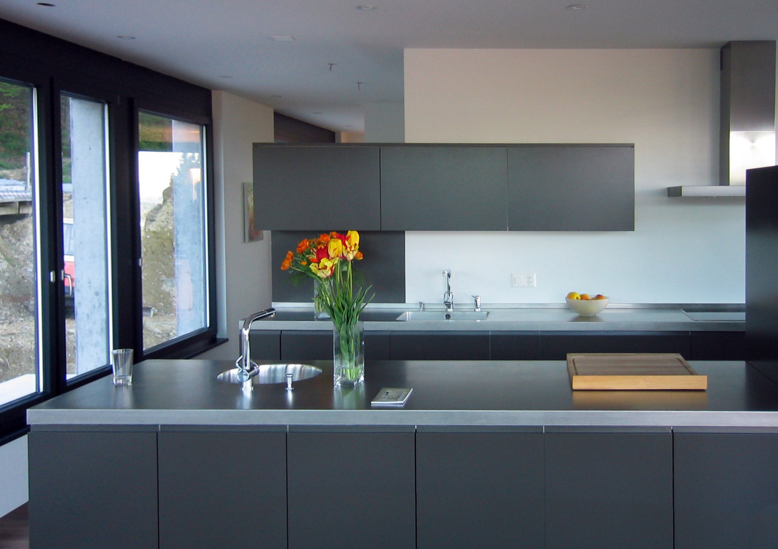 Das wachsende Haus, Küche