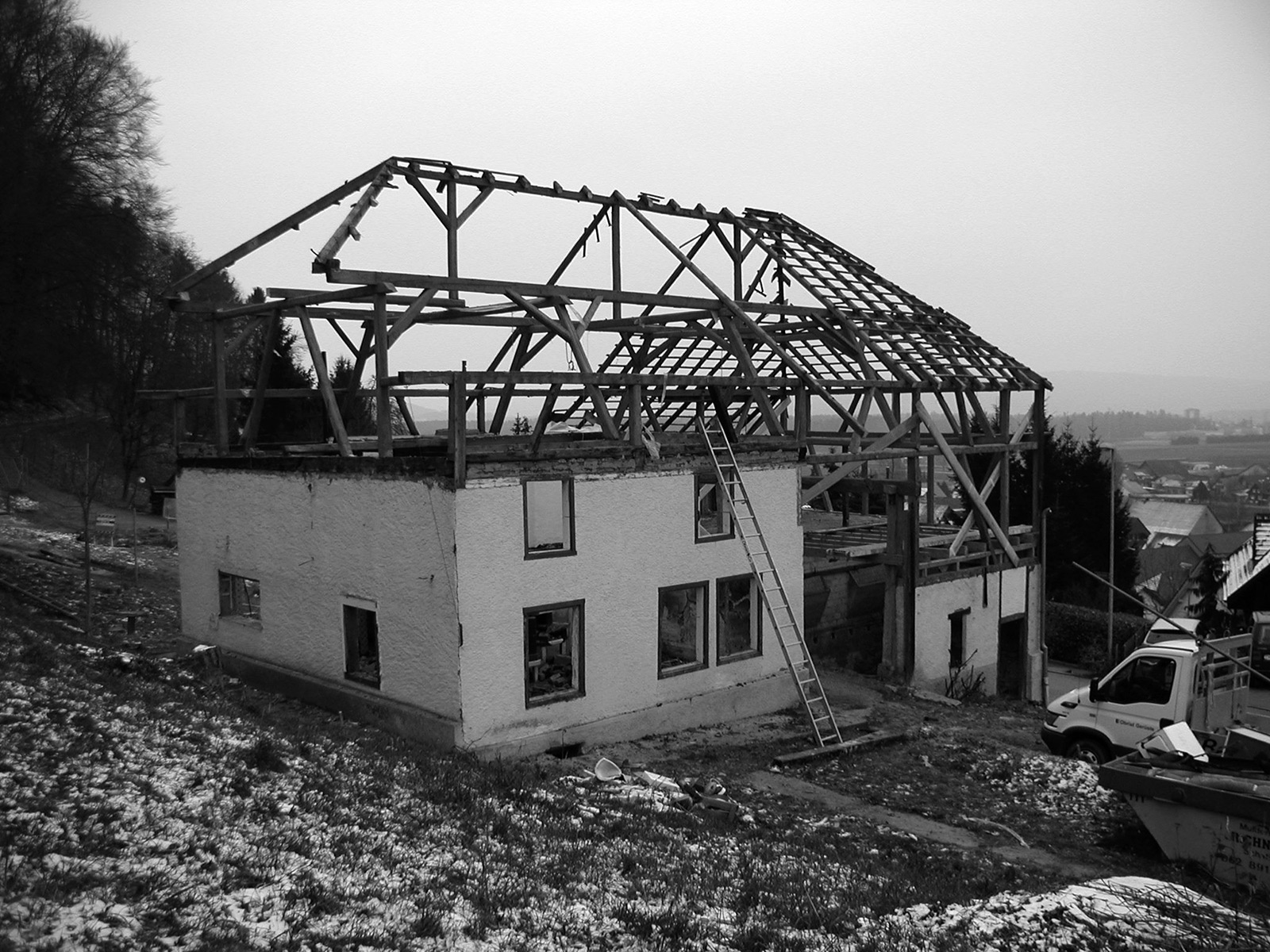 The grown house, demolition