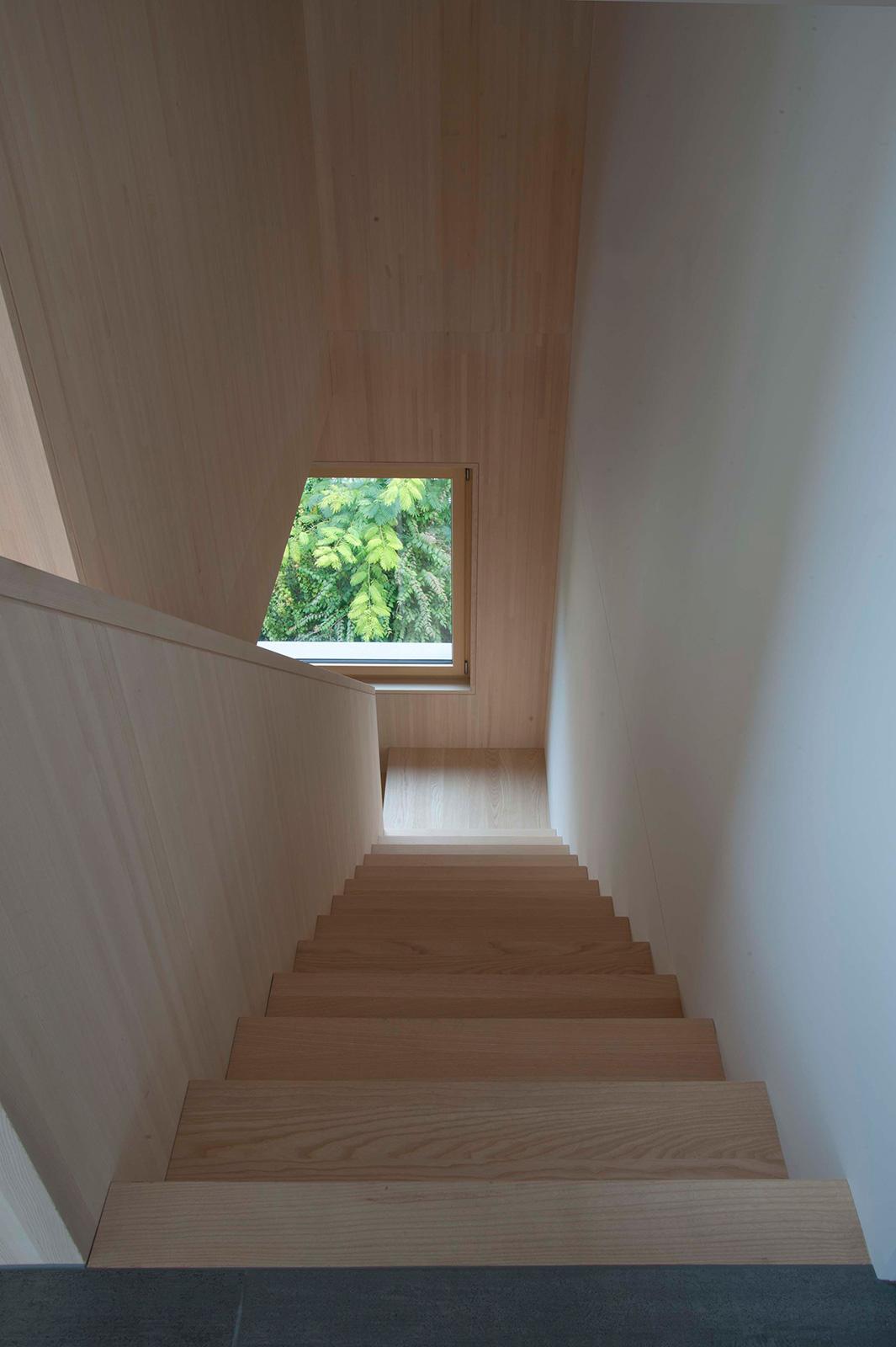 eden am bach, staircase duplex flat
