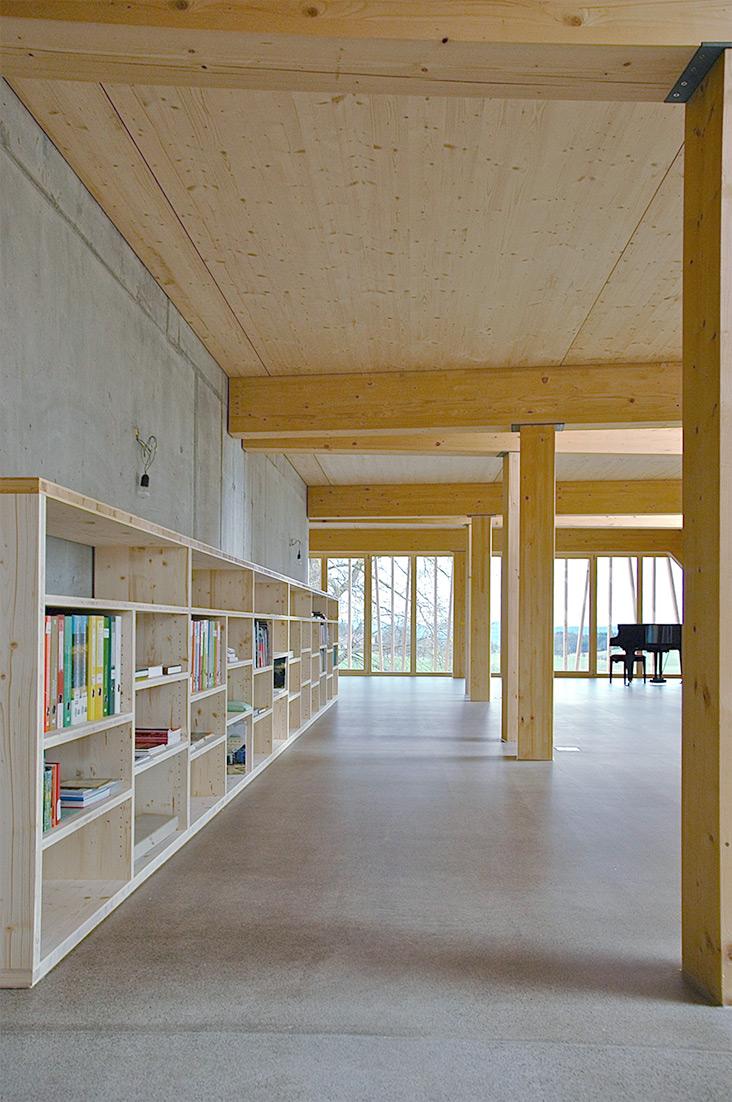 Gutshof Wiggwil, Bibliothek