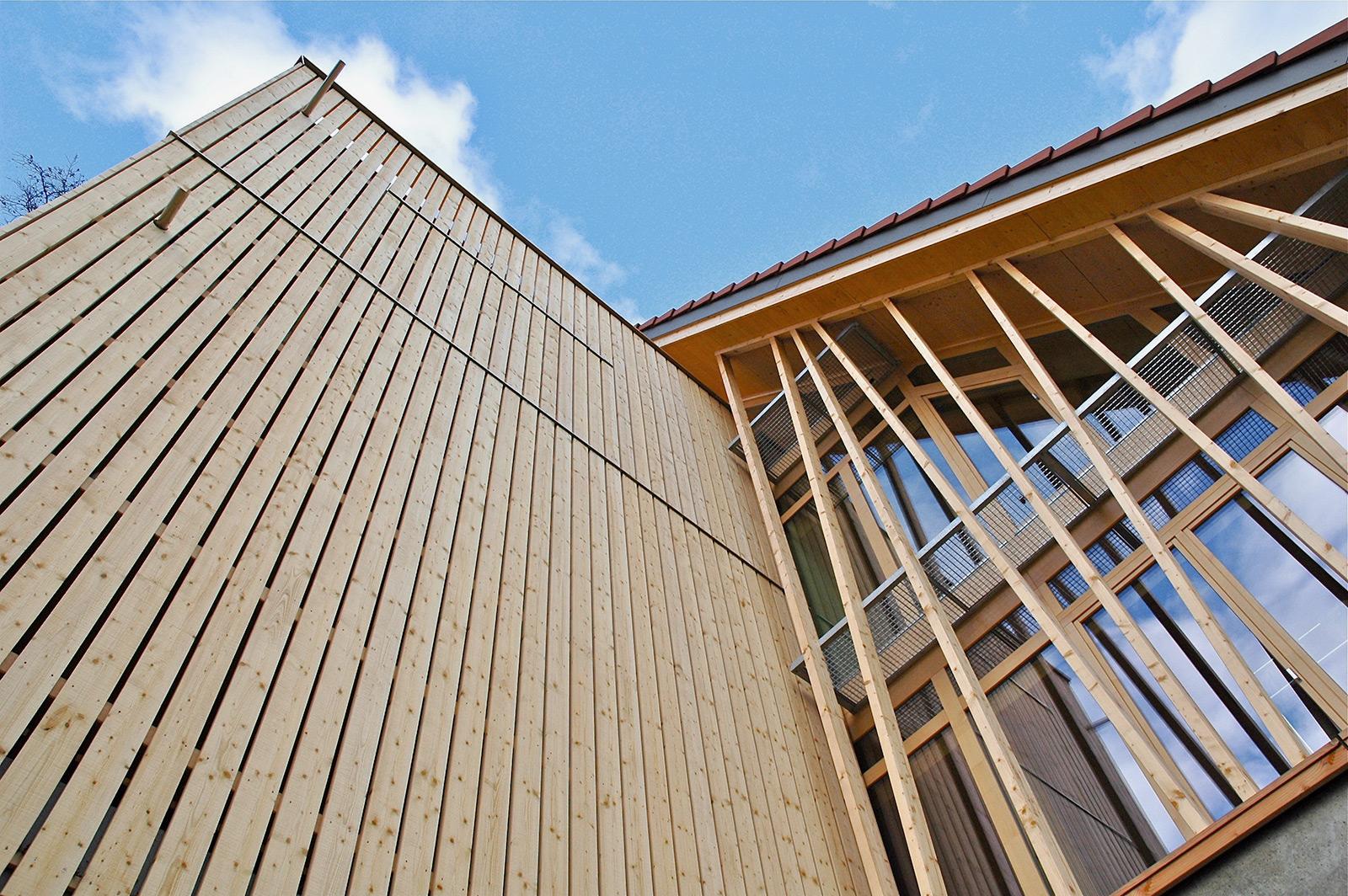 Gutshof Wiggwil, Fassade
