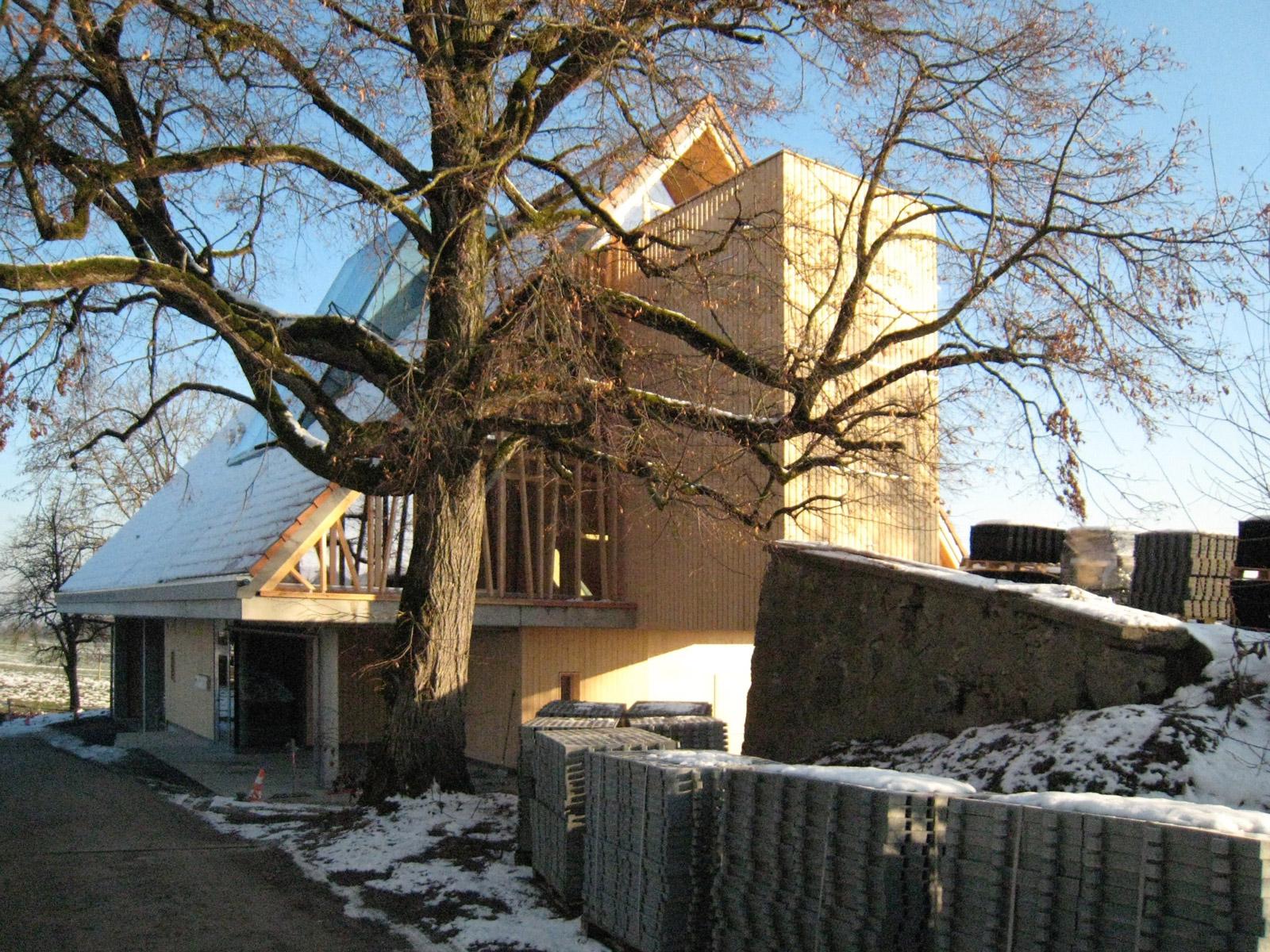 Gutshof Wiggwil, Ansicht Süd