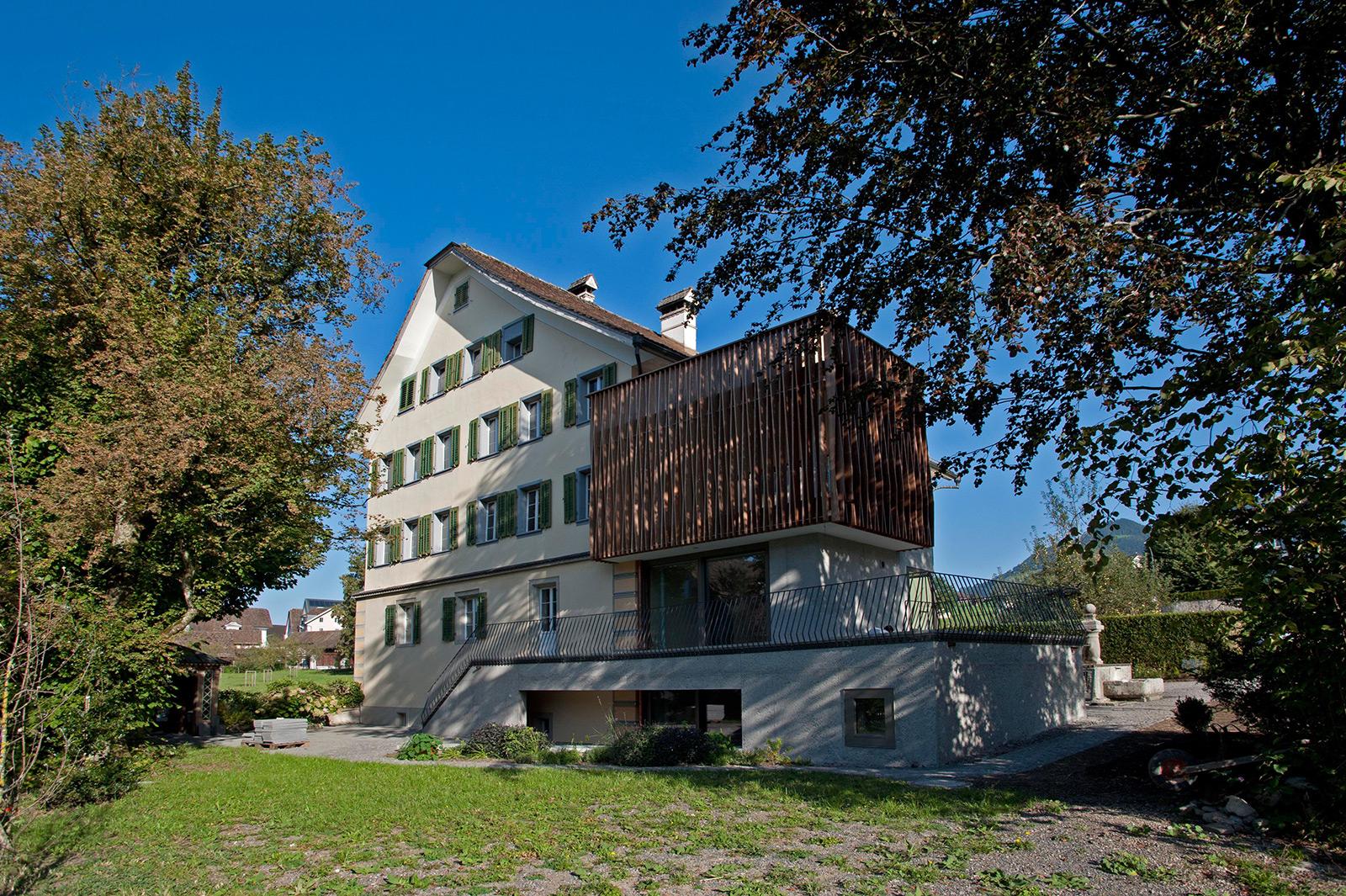 mehrfamilienhaus sedleren :: herrenhaus schwyz :: bauten