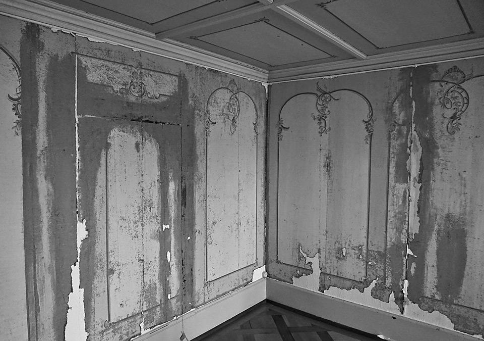 Restauration der Wandmalereien