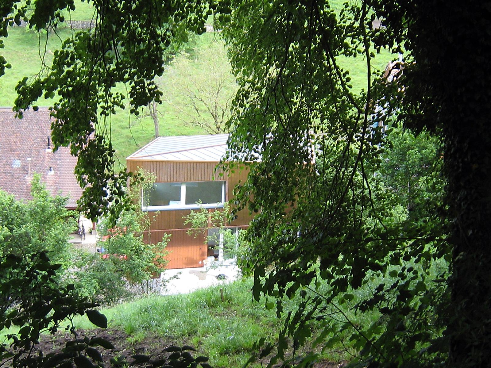 Passstück, Haus im Grünen