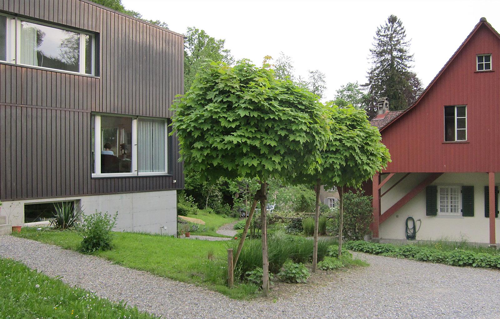 Passstück, Innenhof/Garten