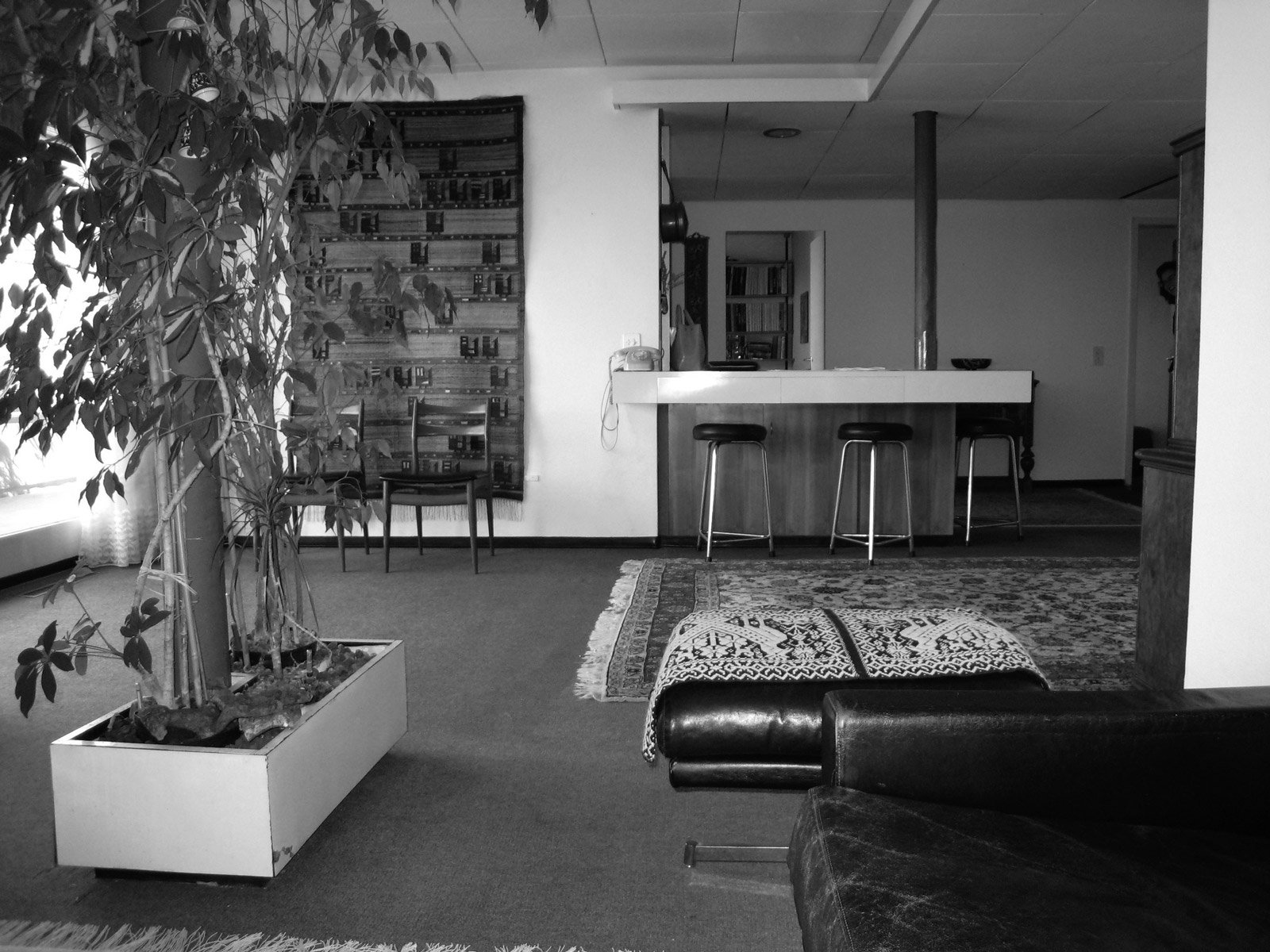 post–stucky, Wohnzimmer vor dem Umbau