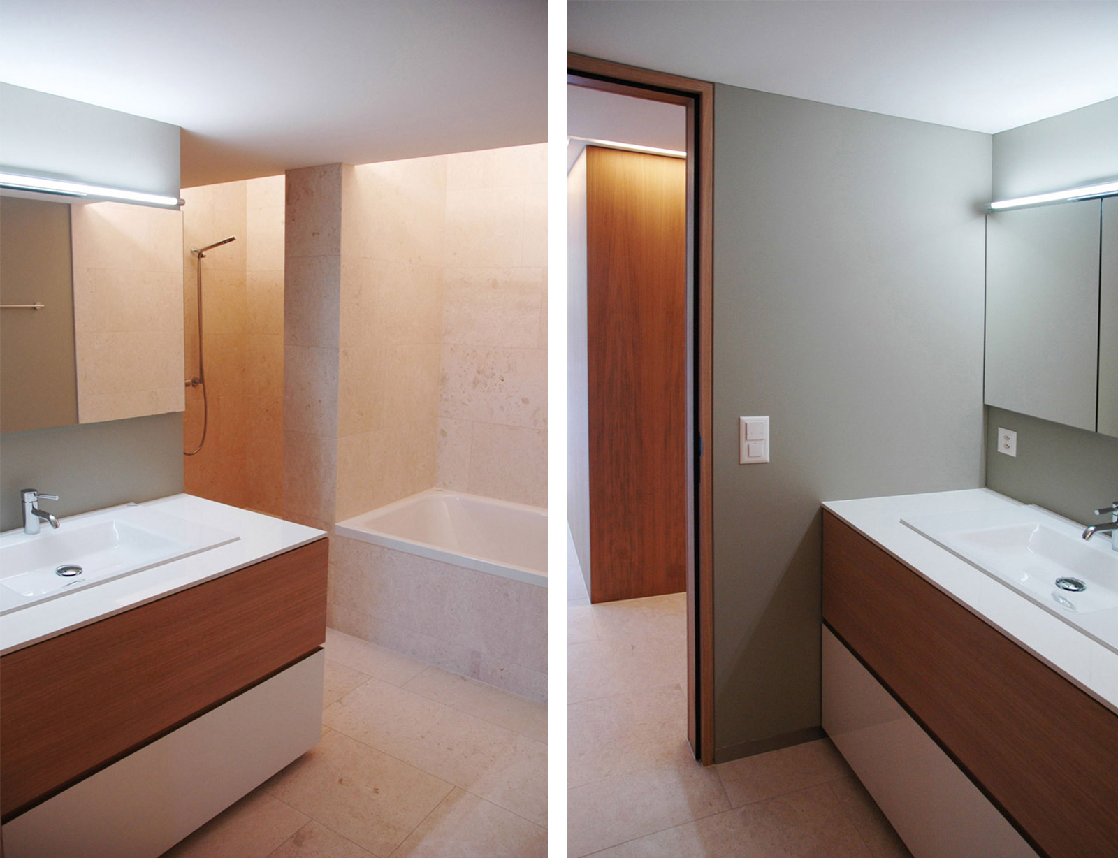 post–stucky, Badezimmer